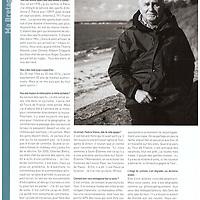 Portrait de Jean Paul Ollivier, alias Paulo la science pour Bretons magazine du mois de novembre 2013