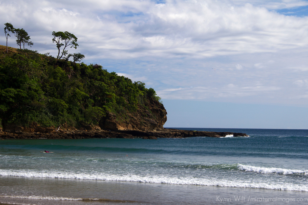 Central America, Nicaragua, Playa Remanso. Playa Remanso, a pristine beach south of San Juan del Sur in Nicaragua.