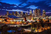 Calgary Twilight featuring Scotiabank Saddledome