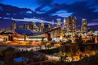 Calgary Twilight featuring Scotiabank Saddledome