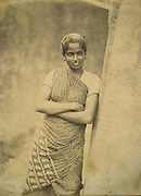 Portrait of a Tamil Woman.