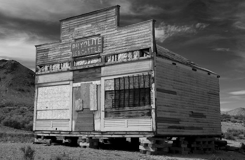 Rhyolite ghost town, Death Valley, California