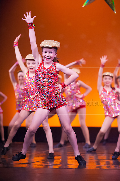 Wellington, NZ. 4.12.2015. Opening Number, from the Wellington Dance & Performing Arts Academy end of year stage-show 2015. Big Show, Friday 6.30pm. Photo credit: Stephen A'Court.  COPYRIGHT ©Stephen A'Court