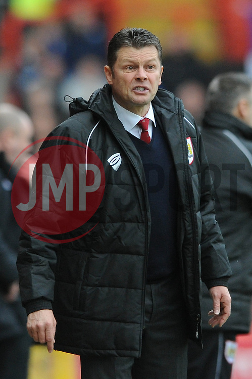 Bristol City manager, Steve Cotterill - Photo mandatory by-line: Dougie Allward/JMP - Mobile: 07966 386802 - 28/02/2015 - SPORT - football - Bristol - Ashton Gate - Bristol City v Rochdale AFC - Sky Bet League One