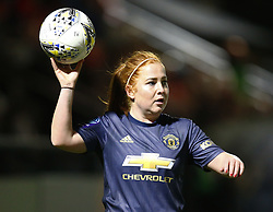 February 7, 2019 - London, England, United Kingdom - Martha Harris of Manchester United Women .during FA Continental Tyres Cup Semi-Final match between Arsenal and Manchester United Women FC at Boredom Wood on 7 February 2019 in Borehamwood, England, UK. (Credit Image: © Action Foto Sport/NurPhoto via ZUMA Press)