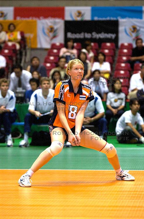 21-06-2000 JAP: OKT Volleybal 2000, Tokyo<br /> Nederland - Croatie 2-3 / Ellen Koopman