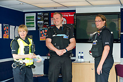Pictured: PC Louise Cassidy, Youth Community Officer PC Brian McGuff, Community officer,  and PC Heather Still Divisional Road Policing<br /> <br /> Destination Drive launch. The initiative aims to help older drivers stay safe on the road. Open invitation to first drop-in session where you can get a free assessment drive and try the current theory and hazard perception tests. <br /> <br /> Ger Harley | EEm 12 June 2018