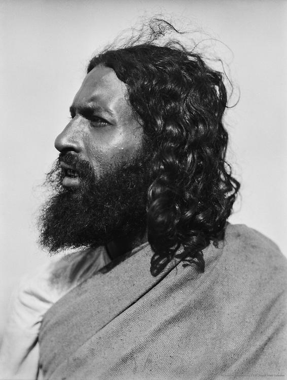 Head of a Mohammedan Beggar, Guntakal, India, 1929
