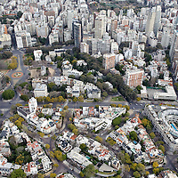 Buenos Aires, Argentina 22 August 2009<br /> Aerial view of Buenos Aires, from an helicopter of Helijets.<br /> PHOTO: EZEQUIEL SCAGNETTI