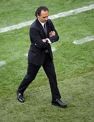 FUSSBALL  EUROPAMEISTERSCHAFT 2012   VORRUNDE Spanien - Italien            10.06.2012 Trainer Cesare Prandelli (Italien)