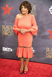 August 6, 2017 - New Jersey, U.S - Congresswoman, MAXINE WATERS at the Black Girls Rock 2017 red carpet. Black Girls Rock 2017 was held at the New Jersey Performing Arts Center in Newark New Jersey. (Credit Image: © Ricky Fitchett via ZUMA Wire)