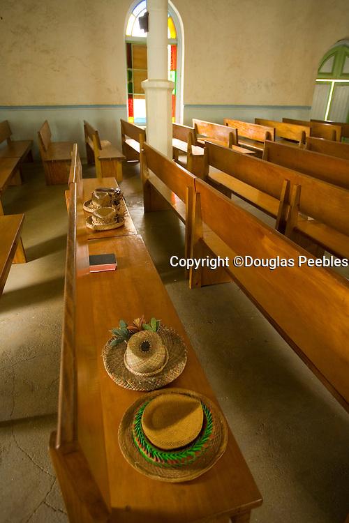 Zion tapu Church, Aitu Island, Cook Islands, Polynesia