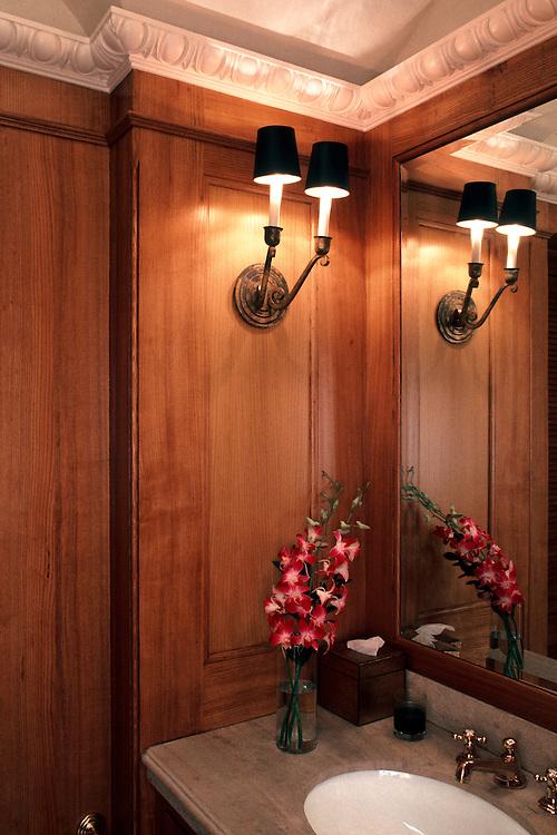 Bathroom Detail, New York City