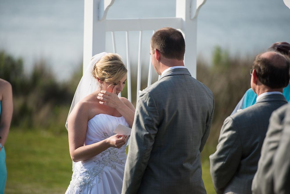 Rob and Heather Wedding | Indian Beach NC Photographers
