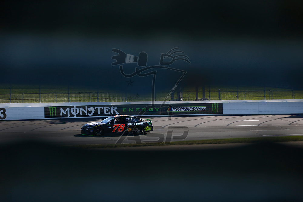 September 23, 2017 - Loudon, New Hampshire, USA: Martin Truex Jr (78) takes to the track to practice for the ISM Connect 300 at New Hampshire Motor Speedway in Loudon, New Hampshire.