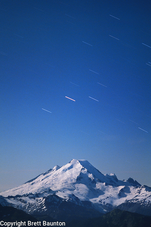 Mt. Baker, Star Trails