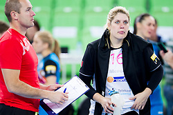 Misa Marincek of RK Krim Mercator during handball match between RK Krim Mercator (SLO) and HCM Baia Mare (ROM) in 1st Round of Women's EHF Champions League 2015/16, on October 16, 2015 in Arena Stozice, Ljubljana, Slovenia. Photo by Urban Urbanc / Sportida