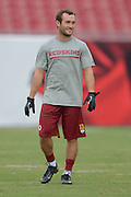 Washington Redskins wide receiver Nick Williams (13) prior to an NFL preseason game against the Tampa Bay Buccaneers at Raymond James Stadium on Aug. 29, 2013 in Tampa, Florida. <br /> <br /> &copy;2013 Scott A. Miller