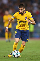 September 12, 2017 - Rome, Italy - Yannick Ferreira Carrasco of Atletico  during the UEFA Champions League Group C football match between AS Roma and Atletico Madrid on September 12, 2017 at the Olympic stadium in Rome. (Credit Image: © Matteo Ciambelli/NurPhoto via ZUMA Press)