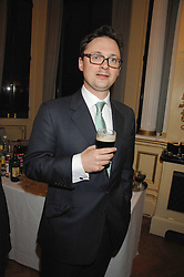 VISCOUNT DUNLUCE at a party to celebrate the publication of 'Arthur's Road' a biography of Arthur Guinness written by Patrick Guinness held at the Irish Embassy, London on 6th March 2008.<br /><br />NON EXCLUSIVE - WORLD RIGHTS