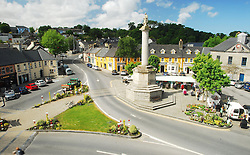 A real meeting place the Octagon, at the centre of Westport, Co Mayo...Photo Conor McKeown