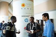 The Linux Foundation hosts its Open Daylight Summit 2015 at the Santa Clara Convention Center in Santa Clara, California, on July 30, 2015. (Stan Olszewski/SOSKIphoto)