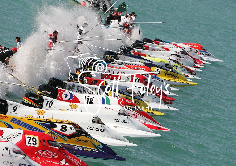 U.I.M F1 2006 Championship, 2nd Annual Grand Prix of Qatar, Doha, Qatar, 15 April 2006