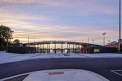 The enterance to Lynchburn City Stadium