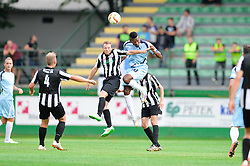 Johnson Marshal Mfon of ND Gorica during the football match between ND Mura and ND Gorica in 1st Round of Pokal Slovenije 2015/16, at Fazanerija on August 19, 2015 in Murska Sobota, Slovenia. Photo by Mario Horvat / Sportida