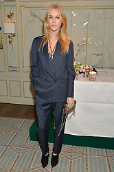 LADY MARY CHARTERIS at the launch of Mrs Alice in Her Palace - a fashion retail website, held at Fortnum & Mason, Piccadilly, London on 27th March 2014.