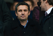 New Aston Villa manager Remi Guarde watches on from the stands during the Barclays Premier League match at White Hart Lane, London<br /> Picture by Jack Megaw/Focus Images Ltd +44 7481 764811<br /> 02/11/2015