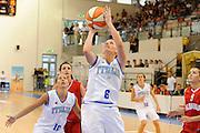 DESCRIZIONE : Ortona Giochi del Mediterraneo 2009 Mediterranean Games Italia Italy Albania Preliminary Women<br /> GIOCATORE : Chiara Pastore<br /> SQUADRA : Nazionale Italiana Femminile<br /> EVENTO : Ortona Giochi del Mediterraneo 2009<br /> GARA : Italia Italy Albania<br /> DATA : 28/06/2009<br /> CATEGORIA : tiro<br /> SPORT : Pallacanestro<br /> AUTORE : Agenzia Ciamillo-Castoria/G.Ciamillo