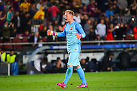 Marc Andre TER STEGEN - 21.04.2015 - Barcelone / Paris Saint Germain - 1/4Finale Retour Champions League<br />