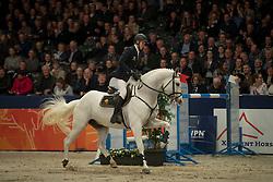 Snels Zoi, NED, Zacharov<br /> Springen VHO Trofee<br /> KWPN Hengstenkeuring 2017<br /> © Dirk Caremans<br /> 02/02/17