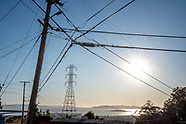 PG&E Power Lines and Poles in Bay Area