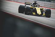 October 18-21, 2018: United States Grand Prix. Nico Hulkenberg (GER), Renault Sport Formula One Team, R.S.18