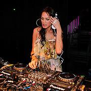 NLD/Amsterdam/20110129 - AIFW winter 2011, show Supertrash, Dj Sunny