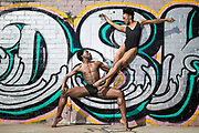 Alvin Ailey dancers Chalvar Monteiro and Jacquelin Harris