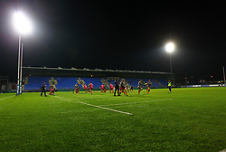 A general view of the Bristol United team warming up - Mandatory by-line: Ken Sutton/JMP - 15/12/2017 - RUGBY - Donnybrook Stadium - Dublin,  - Leinster 'A' v Bristol United -