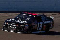 Mar 9, 2012; Las Vegas, NV, USA; Nationwide Series driver Jennifer Jo Cobb (113) during practice for the Sam's Town 300 at Las Vegas Motor Speedway. Mandatory Credit: Jason O. Watson-US PRESSWIRE