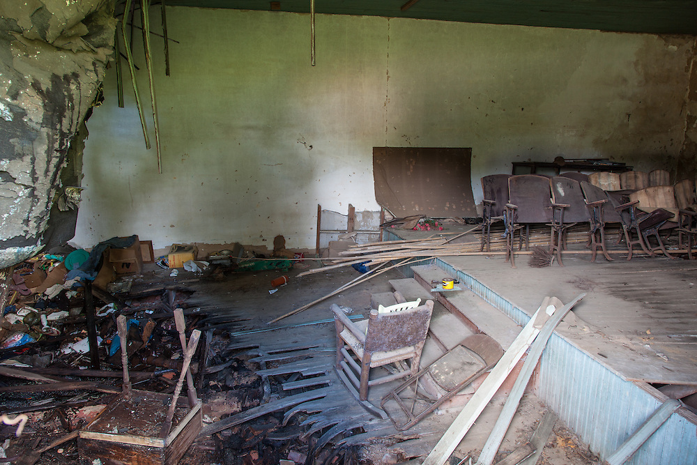 Abandoned Neches, Texas Mercantile Buildings