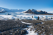 Fjallsarlon in Southeast Iceland
