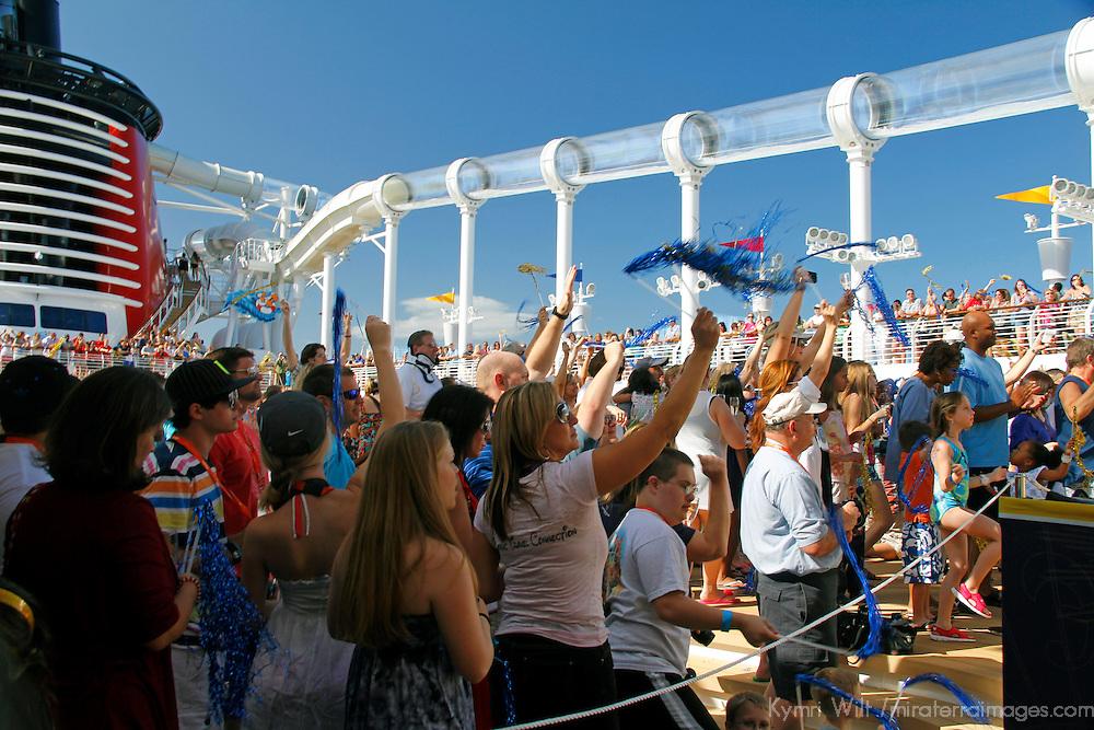 Disney Fantasy Inaugural Cruise Party