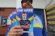 The match day programme, prior to the Ladbrokes Challenge Cup, Quarter Final match between Warrington Wolves and Wigan Warriors, at the Halliwell Jones Stadium, Warrington.<br /> Picture by Michael Sedgwick/Focus Images Ltd +44 7900 363072<br /> 02/06/2018