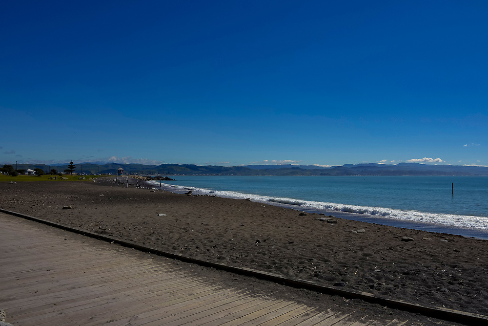 Sea Front of Napier, New Zealand