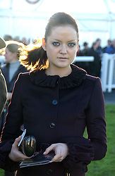 LADY ELOISE ANSON at the 50th running of the Hennessy Gold Cup at Newbury Racecourse, Berkshire on 25th November 2006.<br />