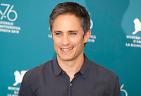 Venice, Italy, 31st August 2019, Gael García Bernal at the photocall for the film Ema at the 76th Venice Film Festival, Sala Grande. Credit: Doreen Kennedy/Alamy Live News