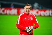 Entraineur des gardiens - 26.11.2014 - Bayer Leverkusen / Monaco - Champions League<br />Photo : Dave Winter / Icon Sport