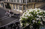 This is balcony in the French Quarter of New Orleans. ©Kathy Anderson, All Rights Reserved