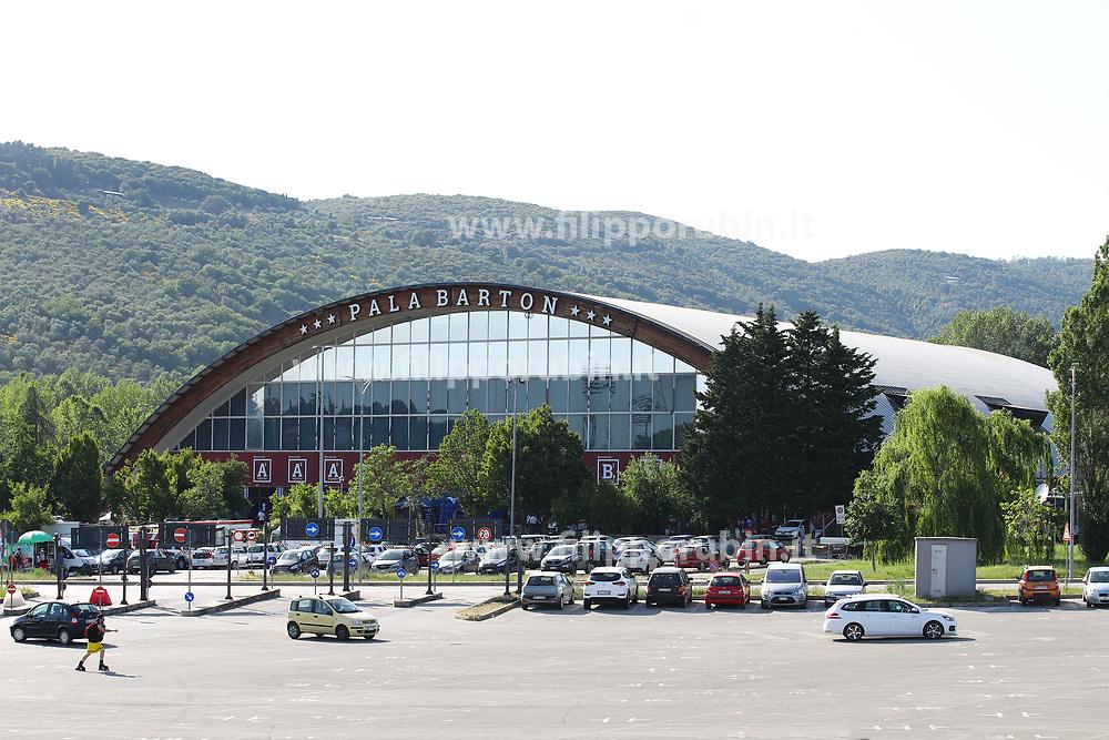 PALA BARTON PERUGIA<br /> ITALIA - RUSSIA<br /> PALLAVOLO VNL VOLLEY PERUGIA <br /> PERUGIA 13-06-2019<br /> FOTO GALBIATI - RUBIN